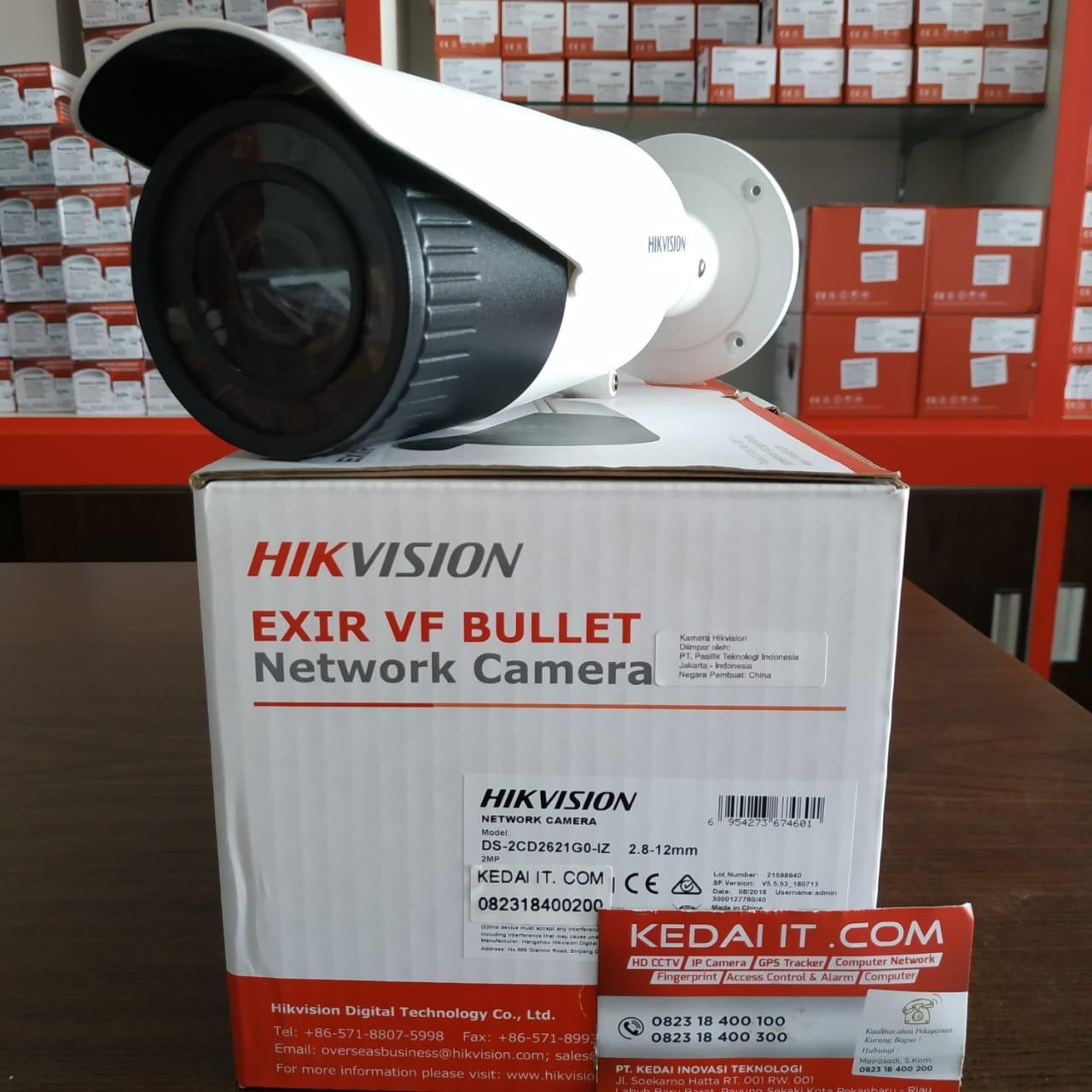 Jual HIKVISION CAMERA DS-2CD2621G0-IZ di pekanbaru