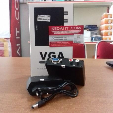 CONVERTER VGA TO HDMI BOX
