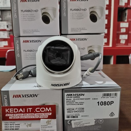 HIKVISION TURBO HD CAMERA DS-2CE16D0T-EXIPF 2.8mm