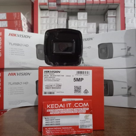 HIKVISION DS-2CE17H0T-IT5F 5 MP Fixed Bullet Camera